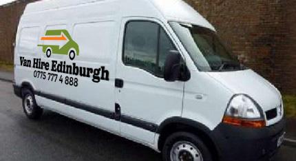 Van Hire Edinburgh CHEAP Van and driver hire.